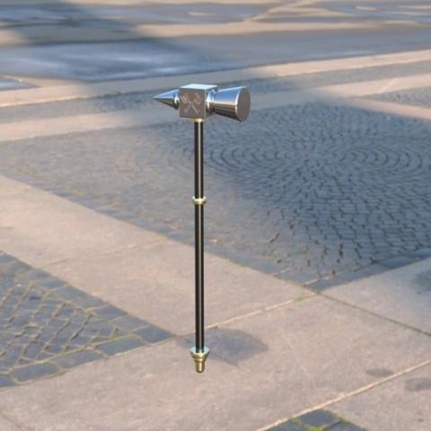 ab7b4892542db7af8446ac4472c2a916_preview_featured.jpg Télécharger fichier STL gratuit Aegis-fang- Wulfgar's Hammer (Imprimable) • Objet imprimable en 3D, derailed