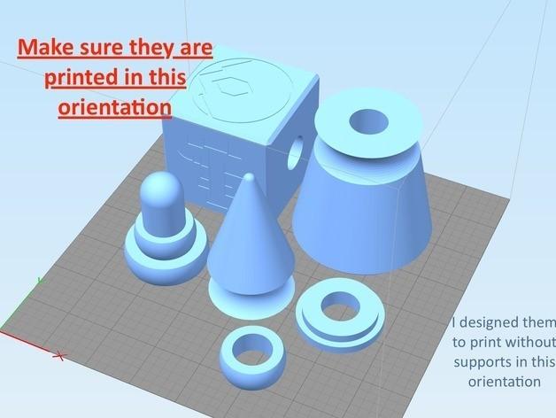 08f8f3cea420c10eea832fc1ce5469fb_preview_featured.jpg Télécharger fichier STL gratuit Aegis-fang- Wulfgar's Hammer (Imprimable) • Objet imprimable en 3D, derailed