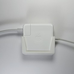 Télécharger fichier imprimante 3D gratuit Support d'adaptateur Mac Power, derailed