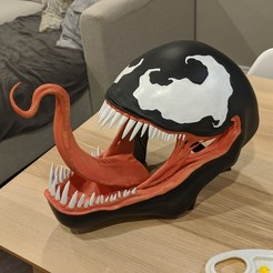 Descargar archivo 3D gratis Máscara de Veneno, Mikeyup