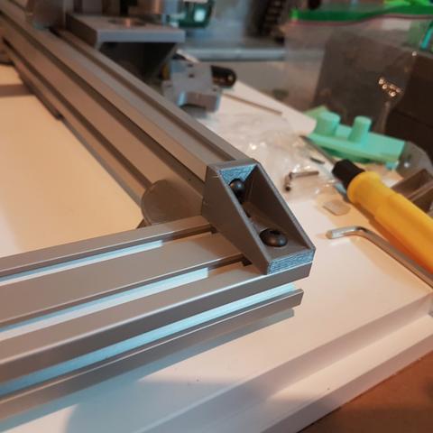 Télécharger fichier imprimante 3D gratuit 2040 Angle d'extrusion, Mikeyup