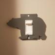 Capture d'écran 2017-09-29 à 17.01.40.png Download free STL file Decora Grizzly Bear Wallplate • 3D printer model, Mikeyup
