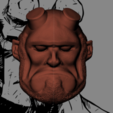 hellboy 3.PNG Download STL file Hellboy Head • 3D printer model, marloquemegusta