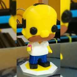 WhatsApp Image 2019-11-20 at 15.46.29.jpeg Télécharger fichier STL Homer Simpson funko pop. Impression multicolore avec une extrudeuse • Modèle pour imprimante 3D, marloquemegusta