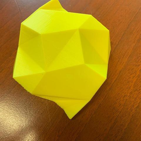 STL Hoja de papel origami, ElTaller3D
