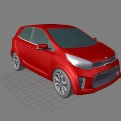 Diseños 3D Kia Picanto / Kia Morning, ElTaller3D