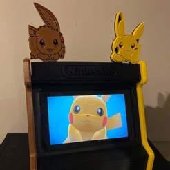 FB_IMG_1592276470679.jpg Download 3MF file Nintendo Switch Pokémon: Let's Go Arcade • 3D printing template, ElTaller3D