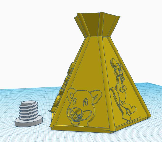 tente.PNG Download free STL file pepper or salt • 3D printing object, jrr