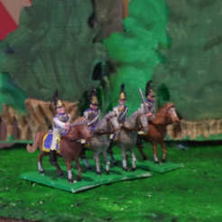 Free 3D print files Napoleonics - Part 7a - Russian Cuirassiers, Earsling