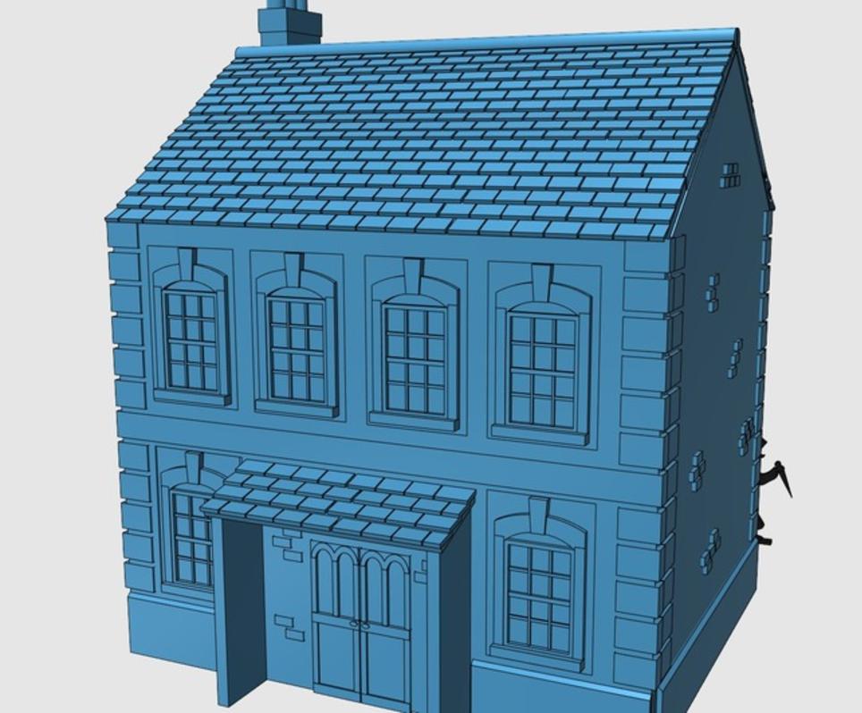 Capture d'écran 2017-08-07 à 17.57.51.png Download free STL file Ripper's London - The Town Hall • 3D printer model, Earsling