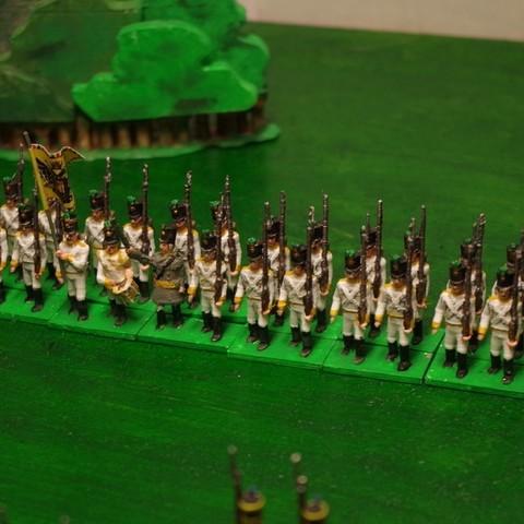 c5089659e80596ac198b21420ae1d1e8_display_large.JPG Download free STL file Napoleonics - Part 17 - Austrian Musketeers Grenadiers and Landwehr Mk III • 3D printing model, Earsling