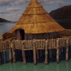Free STL The Crannog, Earsling