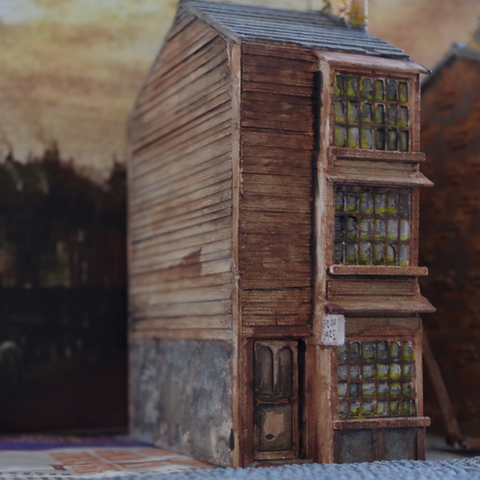 Capture d'écran 2017-06-30 à 10.05.13.png Download free STL file Ripper's London - Wooden Building / Shop • 3D printer design, Earsling