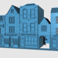 Download free 3D printer files Ripper's London - The Shops Part 2 - The Overarch, Earsling