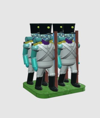 Capture d'écran 2018-03-09 à 09.58.03.png Download free STL file Troops for small hands • 3D printable template, Earsling