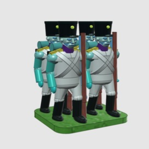 Free 3D file Troops for small hands, Earsling