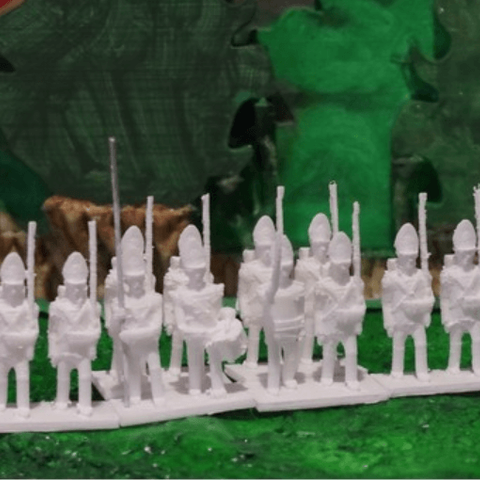 Capture d'écran 2018-03-19 à 16.02.30.png Download free STL file Napoleonics - Part 12 - Austrian Infantry • 3D printing object, Earsling