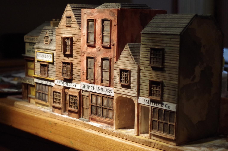 Capture d'écran 2018-01-15 à 11.12.40.png Download free STL file Ripper's London - The Shops Part 2 - The Overarch • 3D printing model, Earsling