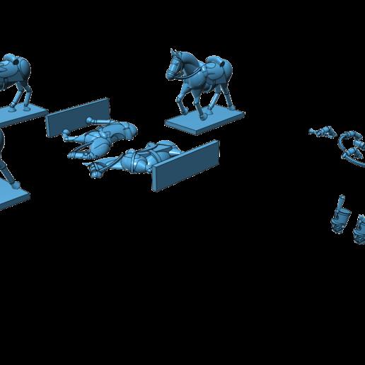 aus_huss1.png Télécharger fichier STL gratuit Napoléonique - Partie 20 - Hussards autrichiens • Design pour impression 3D, Earsling
