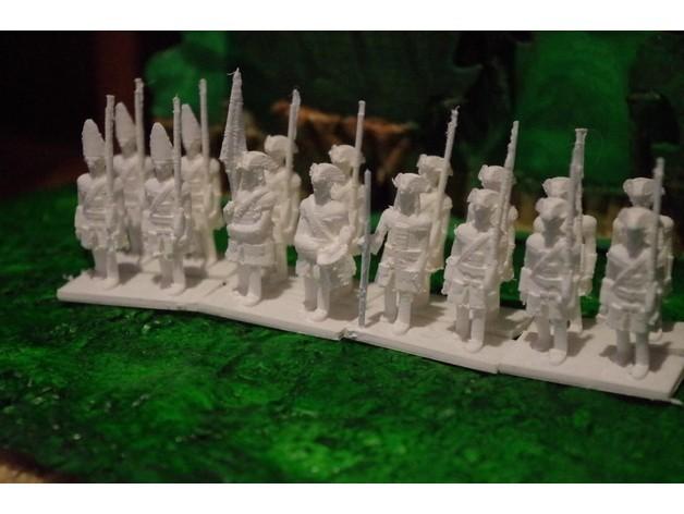 5c49f8b6c0f160d74a32c511c4ea6b19_preview_featured.jpg Télécharger fichier STL gratuit Age of Marlborough - Partie 1 - Infanterie britannique • Plan à imprimer en 3D, Earsling