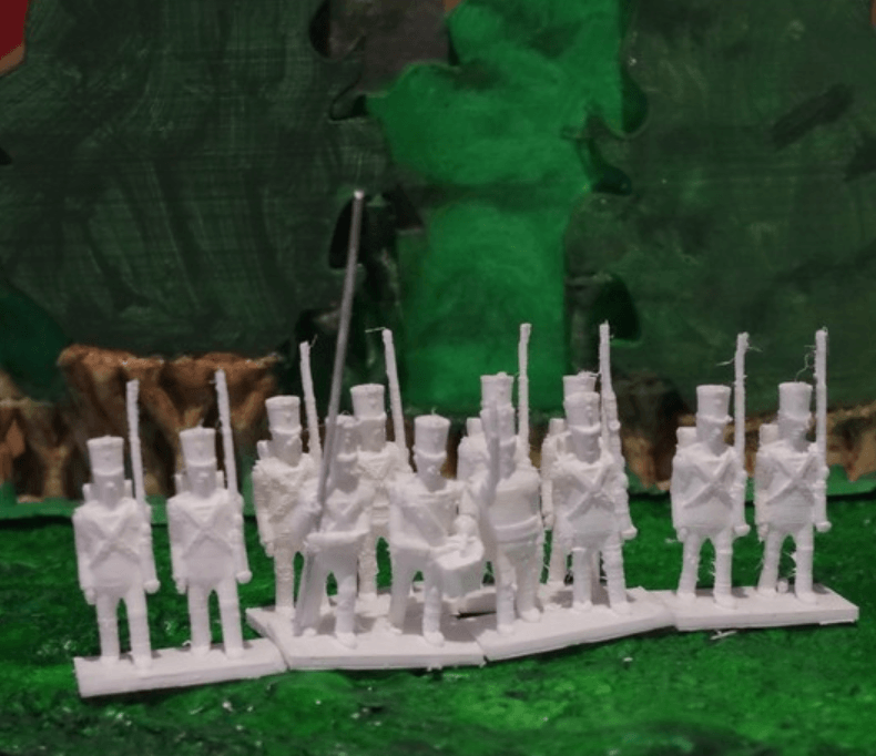Capture d'écran 2018-03-19 à 16.02.35.png Download free STL file Napoleonics - Part 12 - Austrian Infantry • 3D printing object, Earsling
