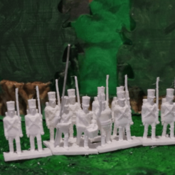 Free stl Napoleonics - Part 12 - Austrian Infantry, Earsling