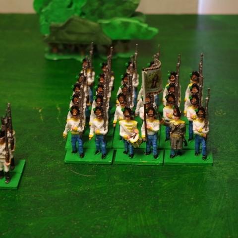 a8ae1301a1c379680db07eb474deb9ec_display_large.JPG Download free STL file Napoleonics - Part 17 - Austrian Musketeers Grenadiers and Landwehr Mk III • 3D printing model, Earsling