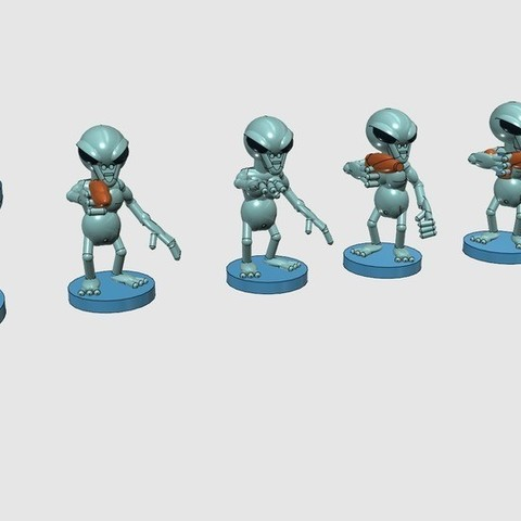Download free 3D printing templates The Grey Raid, Earsling
