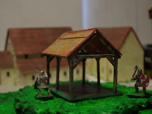 0cea2a5a1ba742d5f934d008b79deaca_preview_featured.JPG Download free STL file Saxon Barn 2 • 3D printing model, Earsling