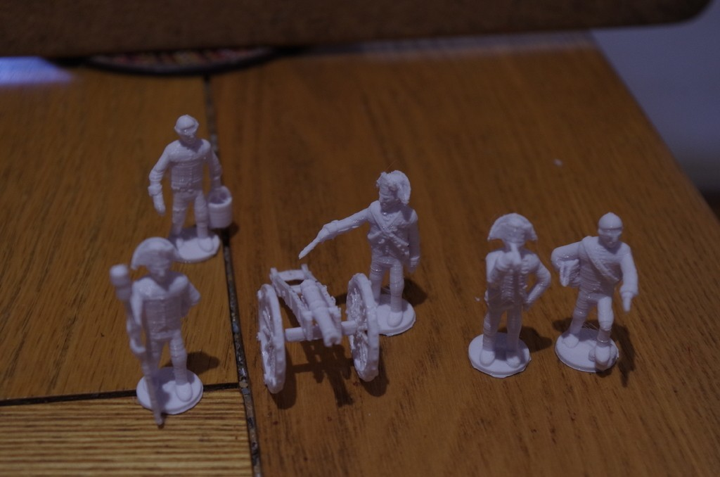 96b0d9efc12e0fc61c0492a0aa5b3795_display_large.JPG Download free STL file American War of Independence - Part 7 - Generic artillery crew • Object to 3D print, Earsling