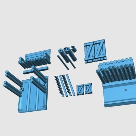 6a6551ca16bc32e7422c0e179bafb8c8_preview_featured.jpg Télécharger fichier STL gratuit Saxony Burh Fortified Gate • Modèle pour impression 3D, Earsling