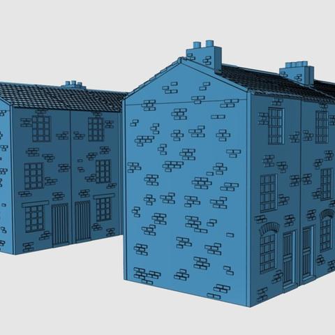 Capture d'écran 2017-06-30 à 09.58.18.png Télécharger fichier STL gratuit Ripper's London - Maisons à haute hauteur • Design pour imprimante 3D, Earsling