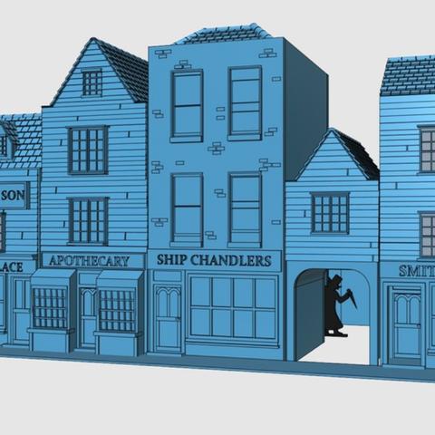 Capture d'écran 2018-01-15 à 11.01.20.png Télécharger fichier STL gratuit Ripper's London - Les boutiques Partie 1 - Smiths and Co • Plan pour impression 3D, Earsling