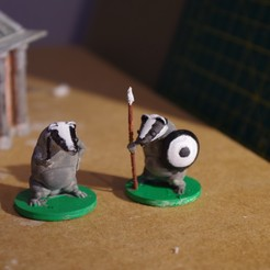 Download free 3D printing designs The Badger Fightback, Earsling