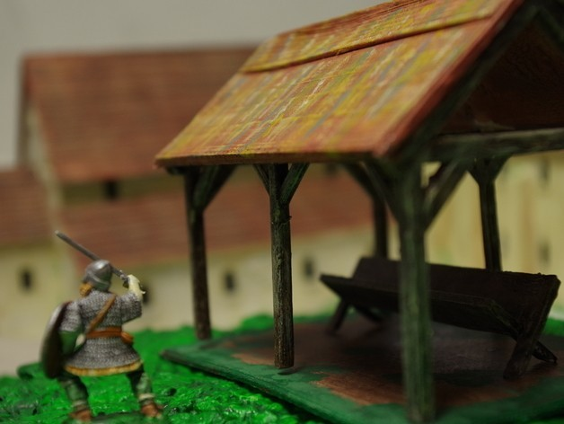 5f32769fd77e465f8dedc842a8469143_preview_featured.JPG Download free STL file Saxon Barn 2 • 3D printing model, Earsling