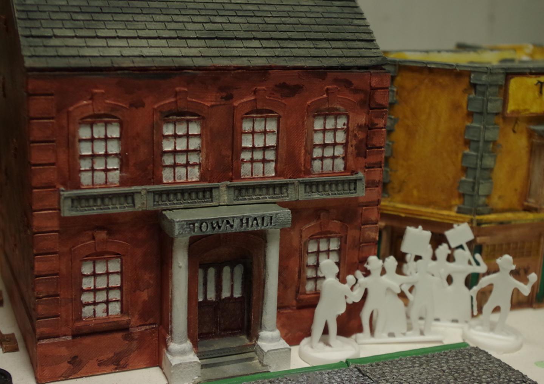 Capture d'écran 2017-08-07 à 17.57.29.png Download free STL file Ripper's London - The Town Hall • 3D printer model, Earsling
