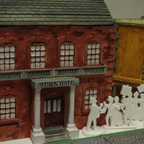 Download free STL file Ripper's London - The Town Hall • 3D printer model, Earsling