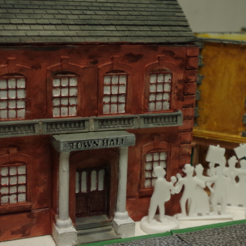Capture d'écran 2017-08-07 à 17.57.29.png Download free STL file Ripper's London - The Town Hall • 3D printer model, Earsling