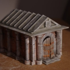 Download free 3D printing designs The Mausoleum of old Uncle Necromancer, Earsling