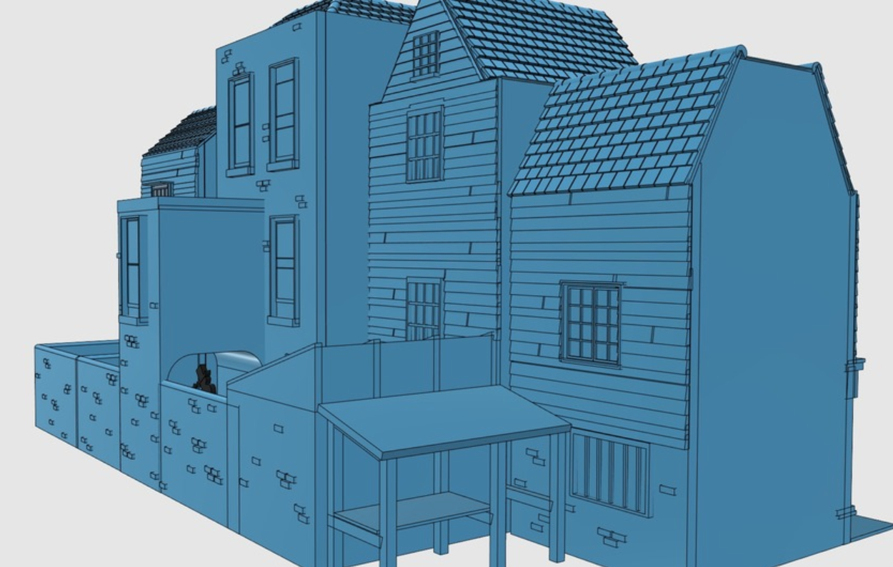 Capture d'écran 2018-01-15 à 11.01.26.png Download free STL file Ripper's London - The Shops Part 2 - The Overarch • 3D printing model, Earsling