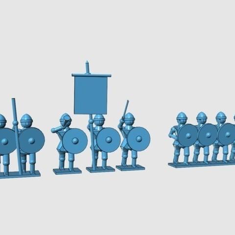 665a9a0446955180737efefbb2d683b7_preview_featured.jpg Download free STL file Generic Sword'n'Board 28mm figures • 3D printer model, Earsling