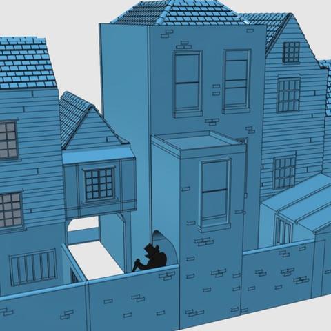 Capture d'écran 2018-01-15 à 11.01.31.png Download free STL file Ripper's London - The Shops Part 2 - The Overarch • 3D printing model, Earsling