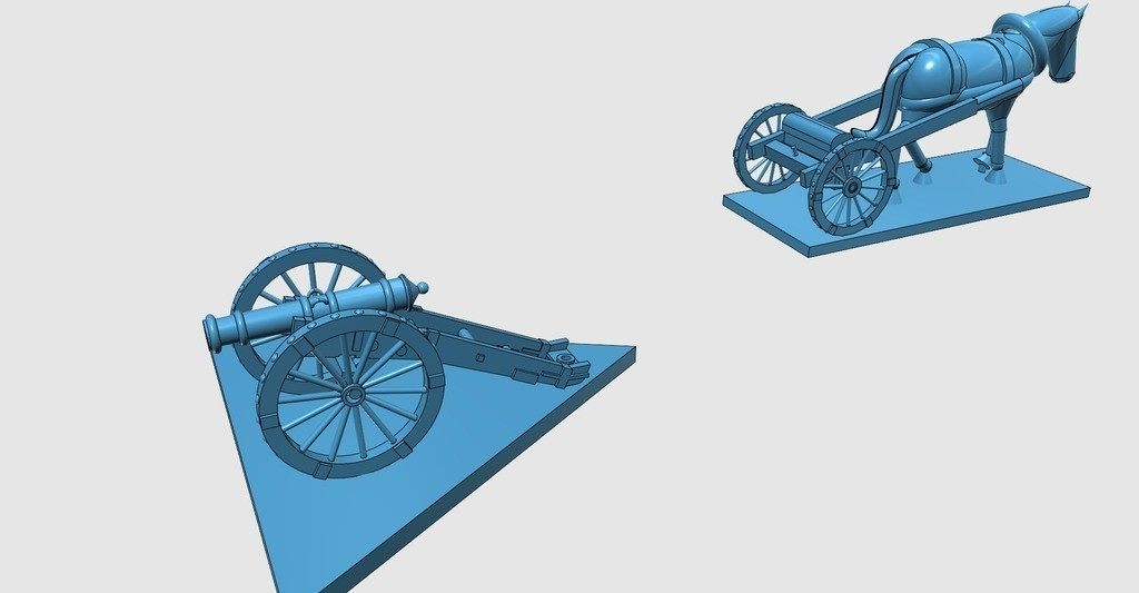 c38115c5c584b6877fb09b8efde9696a_display_large.jpg Télécharger fichier STL gratuit Guerre d'Indépendance Américaine - Partie 8 - Artillerie générique et avant-trains • Design à imprimer en 3D, Earsling