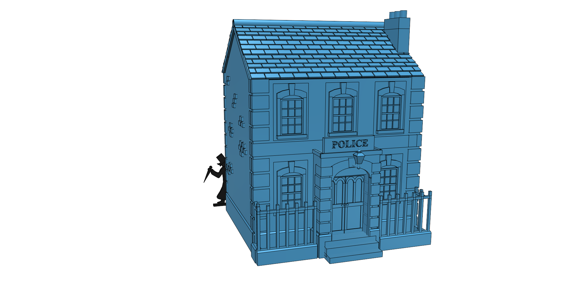 nick2_fr.png Download free STL file Ripper's London - The Nick • Design to 3D print, Earsling