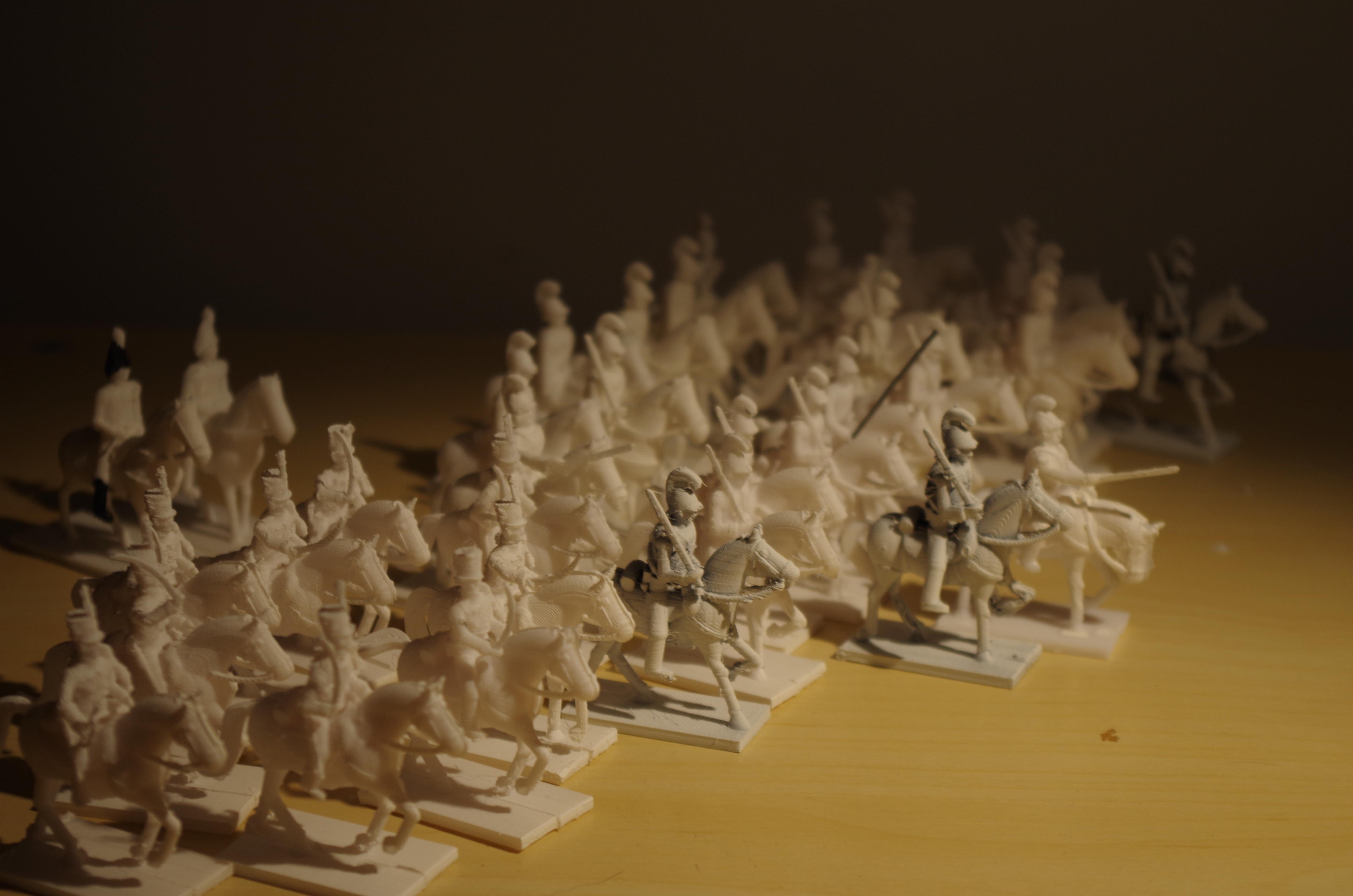IMGP2761.JPG Télécharger fichier STL gratuit Napoléonique - Partie 20 - Hussards autrichiens • Design pour impression 3D, Earsling