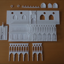 Capture d'écran 2017-08-28 à 09.57.41.png Download free STL file A Bit of Venice on the Warhammer 40k side! • 3D printable object, Earsling