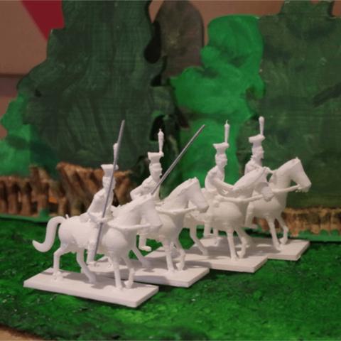 Télécharger fichier 3D gratuit Napoléonien - Partie 7b - Uhlans, Earsling