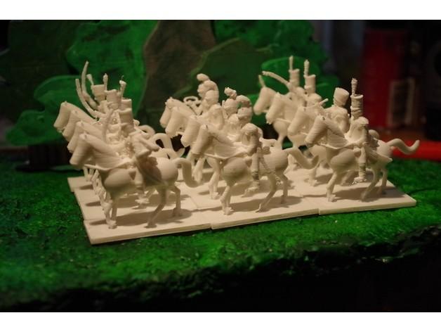 3760b61ea8748b67fd52522535f473d8_preview_featured.jpg Télécharger fichier STL gratuit Napoléoniens - 2ème partie - Français / Alliés Cavalerie • Plan imprimable en 3D, Earsling