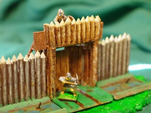 f46893f24054b0e79c0058eaa83714f3_preview_featured.JPG Télécharger fichier STL gratuit Saxony Burh Fortified Gate • Modèle pour impression 3D, Earsling