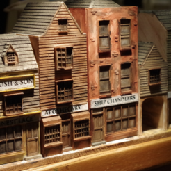 Download free 3D printing files Ripper's London - The Shops Part 5 - The Lace Maker, Earsling